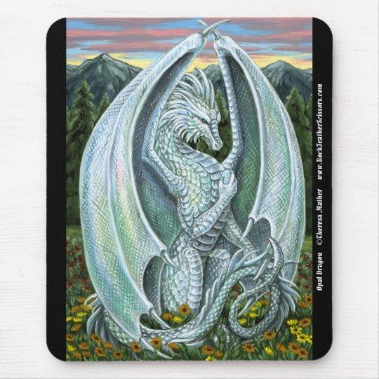 Opal Dragon Mousepad