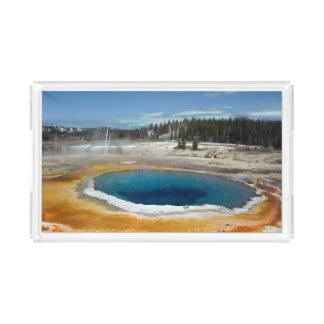 Opal Pool Acrylic Tray