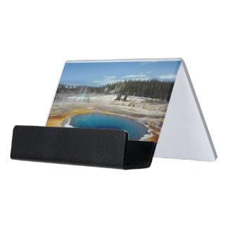 Opal Pool Desk Business Card Holder
