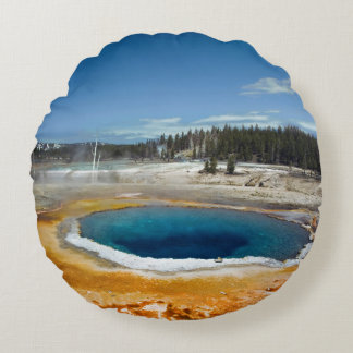 Opal Pool Round Cushion