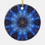 Opal Star Mandala Ornament
