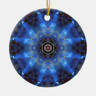 Opal Star Mandala Ornament