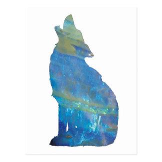 Opal Wolf Postcard