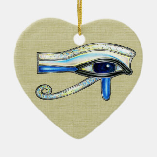 Opalite Eye Ornament Heart