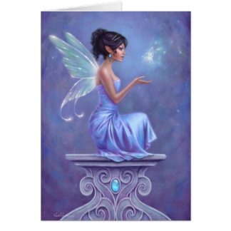 Opalite Fairy Greeting Card