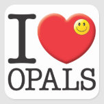 Opals Love Stickers