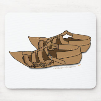 Opanke Balkan Folk Dancing  Shoes Mouse Mat
