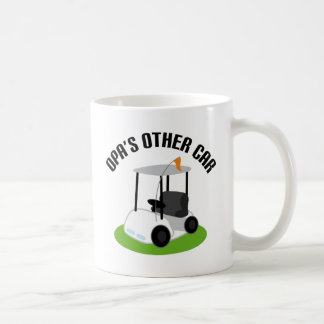 Opas Other Car (Golf Cart) Coffee Mug