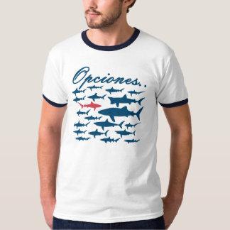 Opciones pasan su propio camino en la vida! tee shirt
