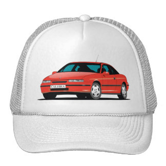 Opel Calibra red front Cap