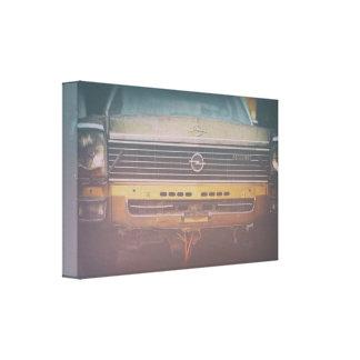 Opel diplomat canvas print