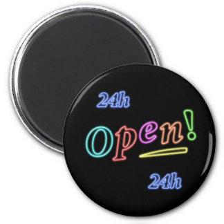 open 24 hours magnet
