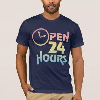 Open 24 Hours Maternity T-shirt