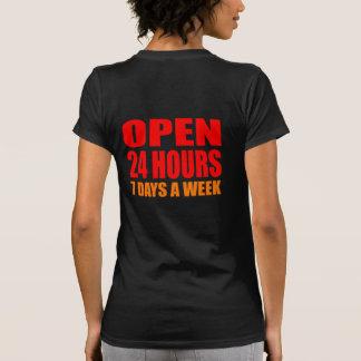 Open 24 Hours Tees