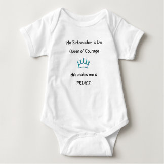 Open Adoption Prince Baby Bodysuit