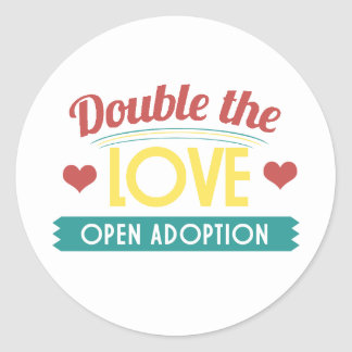 Open Adoption Stickers