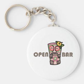 Open Bar Key Chain