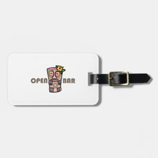 Open Bar Tags For Luggage