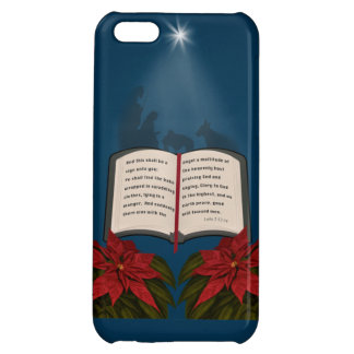 Open Bible Christmas Message iPhone 5C Covers