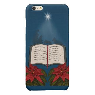 Open Bible Christmas Message iPhone 6 Plus Case