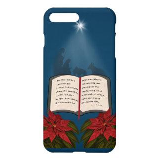 Open Bible Christmas Message iPhone 7 Plus Case