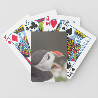 Open Billed Puffin Playing Cards
