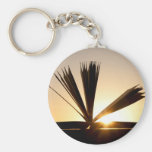Open Book and Sunset Photograph Key Chains