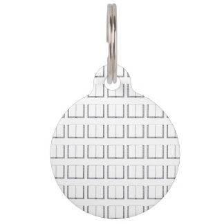 Open Book (Blank Pages) Pet ID Tags