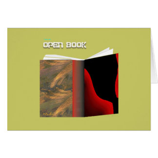 Open Book Card