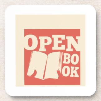 Open Book Coasters