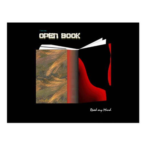Open Book Post Cards