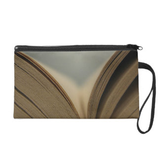 Open Book Wristlet Clutches