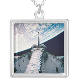 Open Cargo Bay 3 Silver Plated Necklace