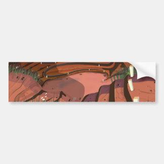 Open Cast Mine Bumper Sticker