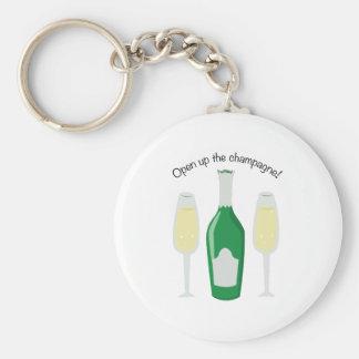 Open Champagne! Key Chain