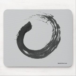 Open Circle Enso Zen Mousepad