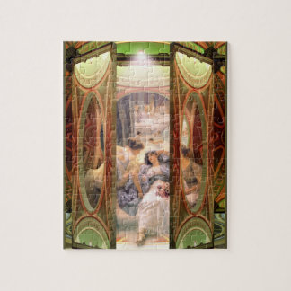 Open Door to The Baths Jigsaw Puzzle