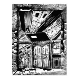 Open Doors Postcard