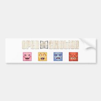 Open Emotion Studios Bumper Sticker