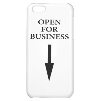 Open For Business iPhone 5C Case