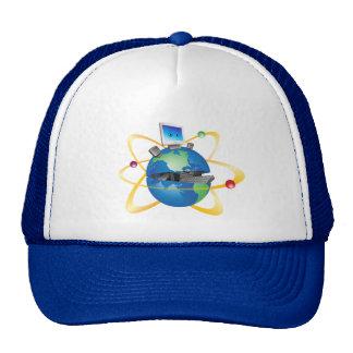 Open Globe Hats