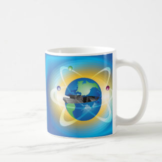 Open Globe Mug