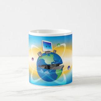 Open Globe Mugs