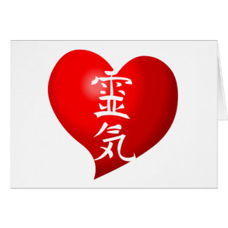 Open Heart Reiki Card