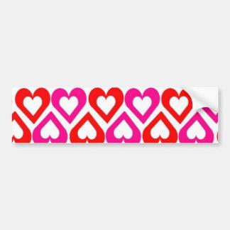 Open Hearts Bumper Sticker