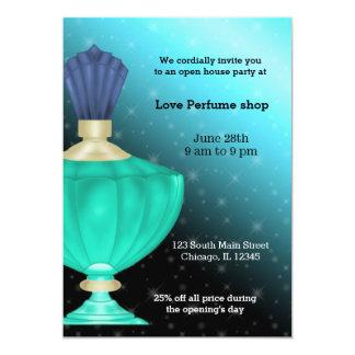 Open House Perfume store 13 Cm X 18 Cm Invitation Card