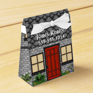 Open House Realty Company House Pinch Box Favors