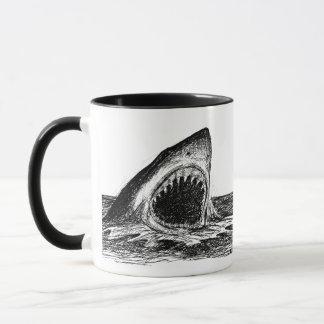 OPEN JAWS Great White Shark Designer Mug