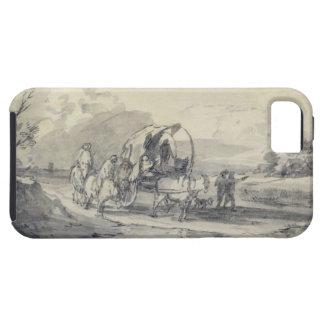 Open Landscape with Herdsman and Covered Cart, c.1 Case For The iPhone 5