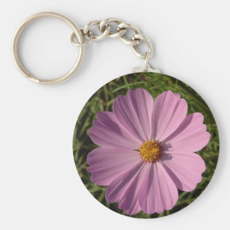 Open Lavender Cosmos Keychains